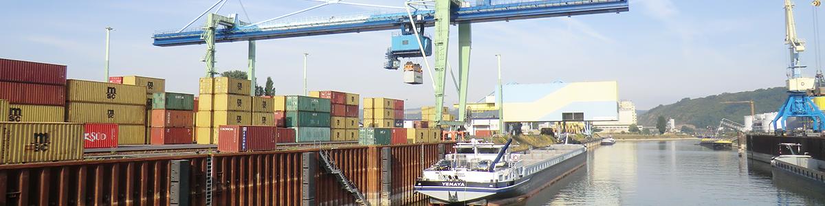 Hafen Andernach Schreiber Logistik