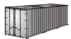 Hard Top 20 Container