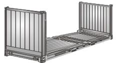 Mini Flat Container